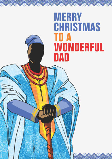 Picture of Merry Christmas to a Wonderful Dad (Baba oBaba o)